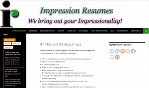 certified professional writers impression resumes
