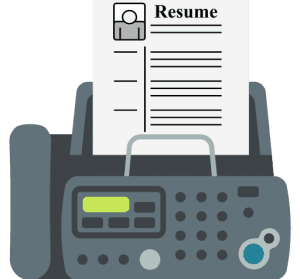 Faxing Resumes to Employers