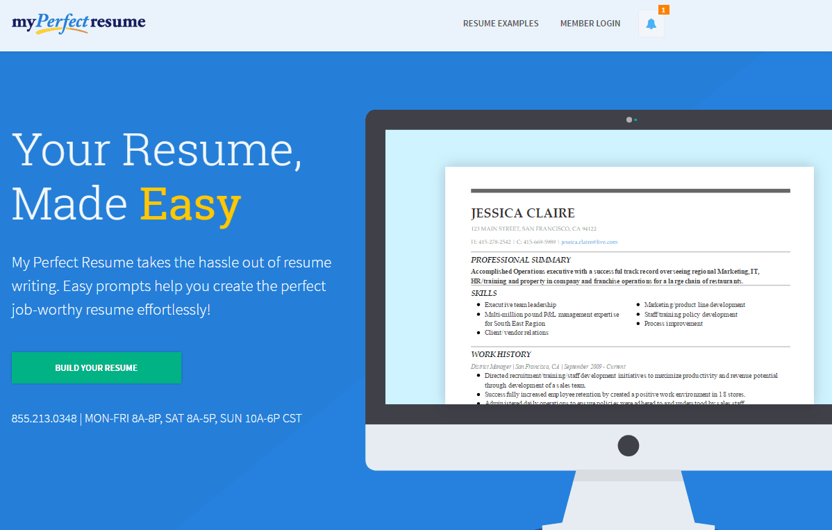 my perfect resume reviews by experts  u0026 users
