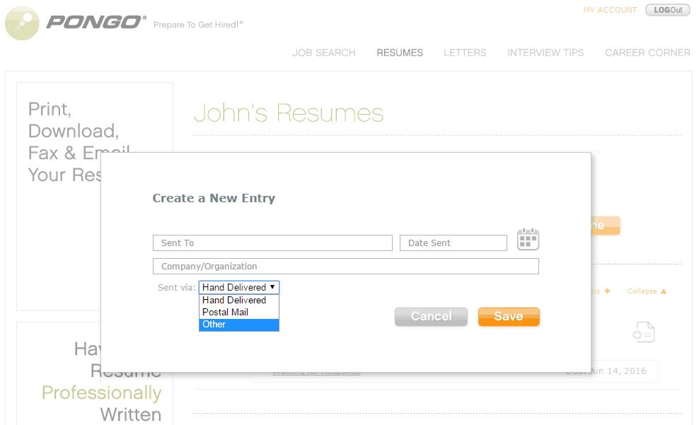 pongo resume reviews resume builder services software faq
