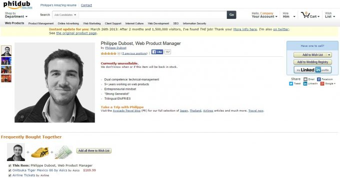 Remarkable Resume Amazon Lookalike
