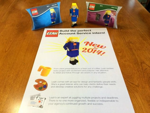 Remarkable Resume LEGO Intern Assembly Kit