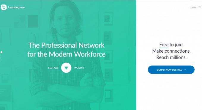 LinkedIn Alternative Branded.me