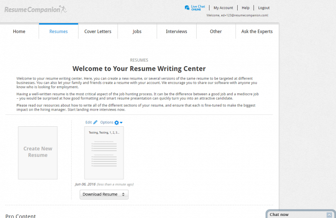 Best free online resume builder software best reviews for Free resume editing software