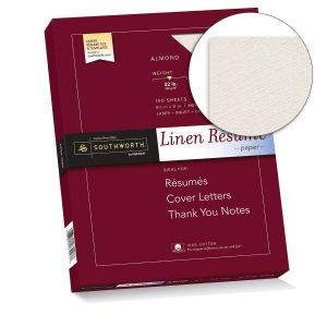 Southworth Linen Resume Paper