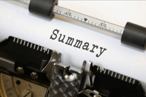 Resume Summary Statements