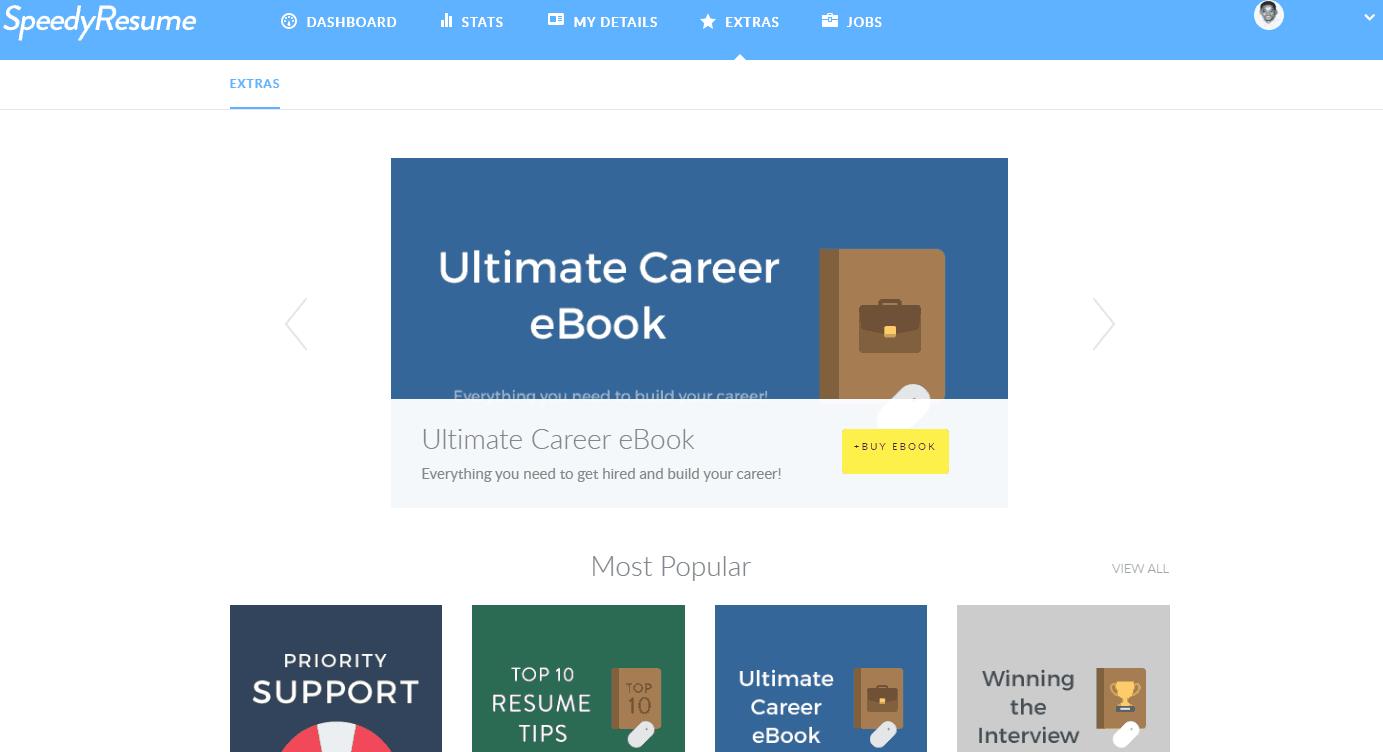speedy resume extras - Resume Images