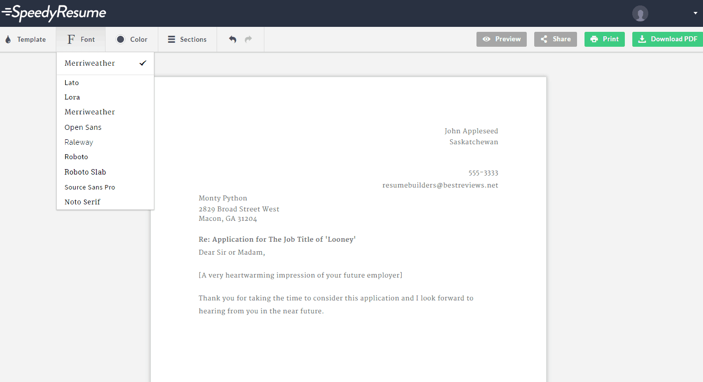 speedy resume reviews by experts users best reviews speedy resume setup fonts