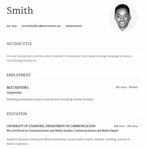 Speedy Resume Pro Template