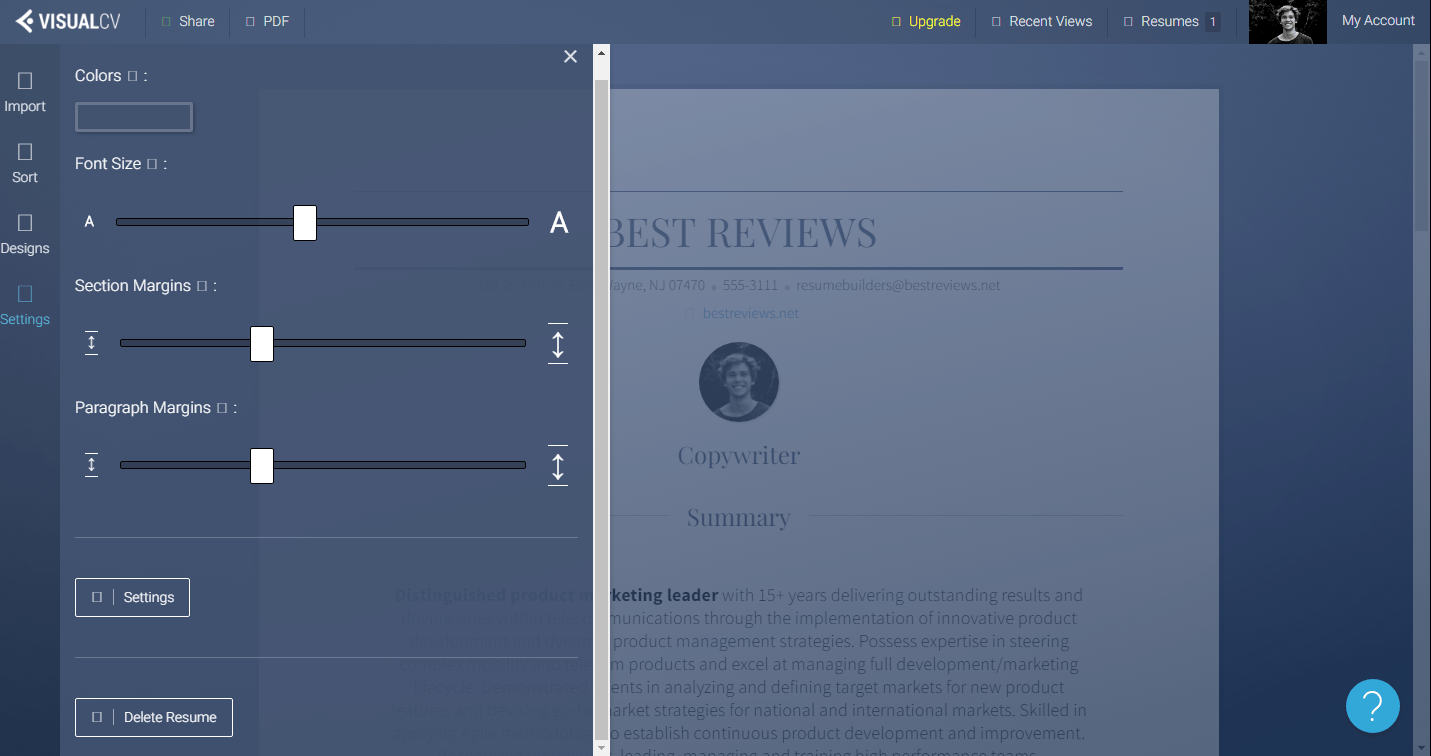 visualcv reviews by experts  u0026 users
